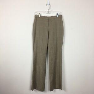 Chloé | Designer Brown Wool Trousers Dress Pants